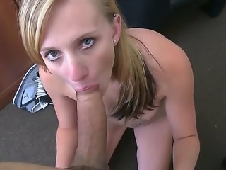 Autumn Lee will suck the juice out of your cock with her amazing blowjob...