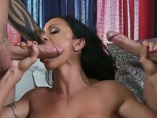 Jewels Jade,Keiran Lee and Scott Nails in wild and nasty threesome hardcore fuck
