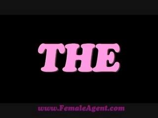FemaleAgent Amazing casting with delicious skinny stud free