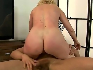Naughty blonde milf Monik begs for a hard throbbing meat ploe and get her...