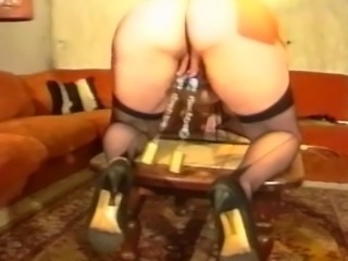 Crazy and silly mature whore agreed for nasty deal where she acts like...