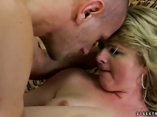 Blonde Cristina cant live a day without getting fucked by dudes rock solid boner