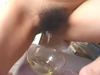 Piss & Puke:  Japanese cutie Kasumi morino in this piss fetish video where...
