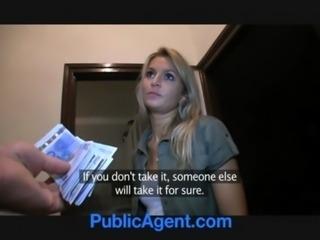 PublicAgent Sophia Fucks me for Money free