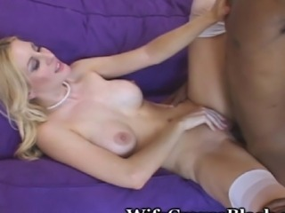 Very sensual fuck as this hot wifey seeks the stretching of her pussy with a...