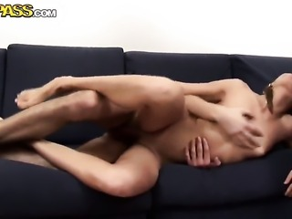 Unthinkably hot slut Rocki makes a dirty dream of never-ending cock sucking a...