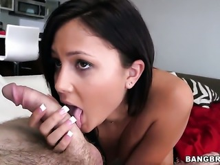 Beautiful harlot Ariana Marie is not a whore but a porn diva who loves sticky...
