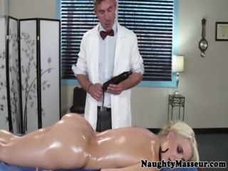 Intimate massage time for Anikka Albrite free