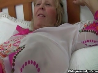 Hottest British grannies still need their daily orgasm free