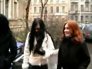 Russian Students In An Orgy