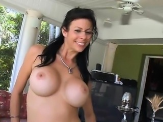 Busty beauteous hottie gets doggstyle sex