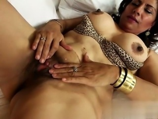 Busty housewife pussy creampie