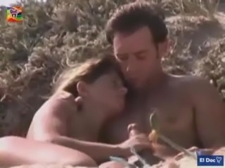 Public Handjob at Nude beach free