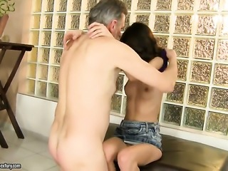 Redhead Betty Stylle cant live a day without getting fucked
