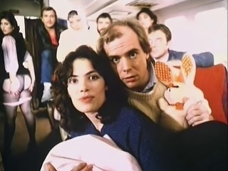 Curvy Stewardess - Jerk Off Encouragement - JOE