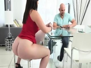 Virgo Peridot incredible white ass tease