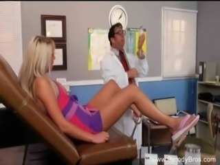 Blonde Fucks The Wrong Doctor! free