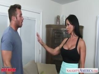 Superb mom Jewels Jade fucking a sexy stud free