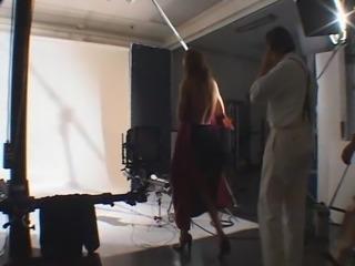 Nina Moric Backstage Calendario