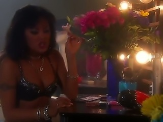 Kaylani Lei is a sexy lady that is giving a blow job. A dick goes deep inside...