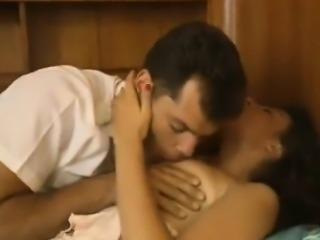 Sharon Mitchell, Jay Pierce, Marco in vintage sex movie