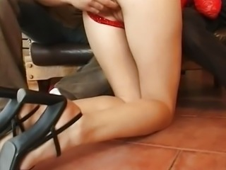 Double anal with Vivienne Laroche