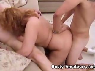 Busty Milf Mindy Jo on hardcore threesome