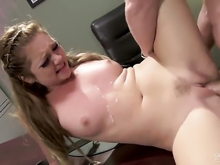 Jessie Andrews is fucking on the table