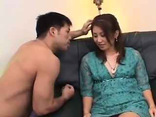 Nana Nanami Asian gets many vibrators on body from masked
