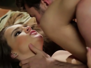 Teal Conrad has some time to get some pleasure with guys worm in her mouth