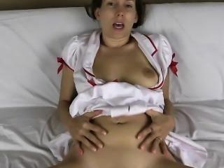 Nurse Lelu Love Virtually Fucks You And You Impregnate Her