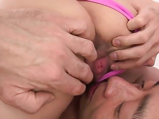 Milf Konoha is wet as the ocean in this steamy scene with lots of pussy slamming