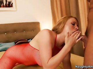 Krissy Lynn fucking like a first rate hoe in hardcore sex action with Rocco Reed