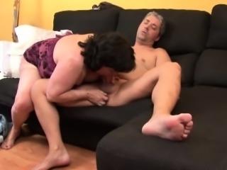 Granny blowjobs grandpa