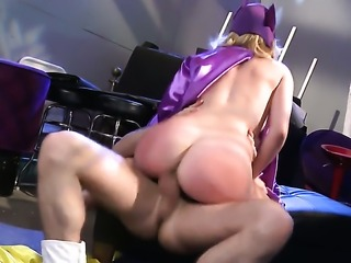 Lexi Belle satisfies mans sexual needs and then gets her lovely face cum soaked