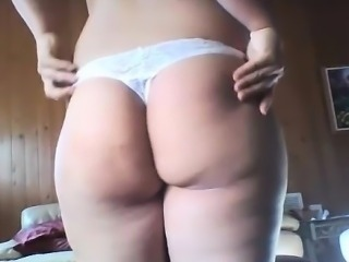 Young Chubby Teen Reverse Cowgirl