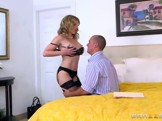Cory Chase is a prostitute. Her husband asked for sex, but customer was...