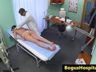 Czech patient feltup by doctor