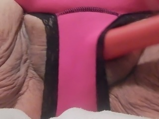pink panties and toy