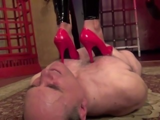Mistress Storm trample under the storm