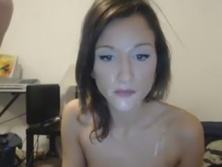 omegle masturbate hot webcam facial
