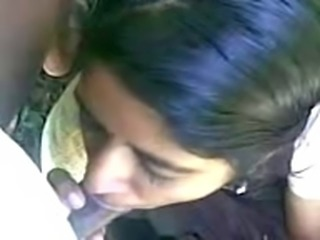 S.Indian Mallu CLGE Girl swallow her BF's CUM after BJ