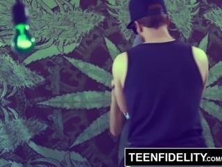 TEENFIDELITY - Jade Jantzen Ass Fucked While High