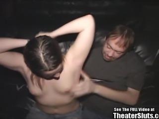 Cute Teen Tiny Tit Hippie Gangbang Theater Fucking