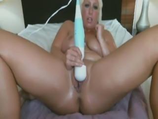 blonde panty stuff cam show