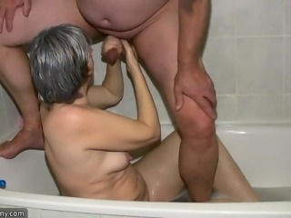 OldNanny Older lady blowjobing and fucking