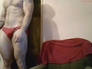 Hot and handsome romanian bodybuilder cam