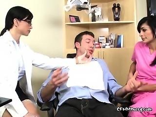Horny Dentists Treat Patients Big Hard Cock
