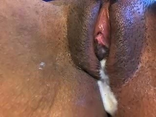 some deep pussy action