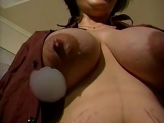 Mom's huge lactating boobs need relief 2
